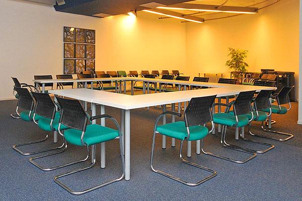 Vergaderen bij Franklin Business Center